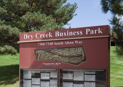 Dry Creek Business Park - Monument Signage